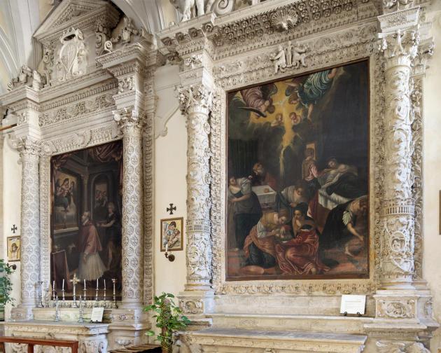 L'église Santa Maria degli Angeli.