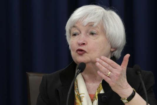La présidente de la Réserve fédérale Janet Yellen à Washington le 26 août 2016