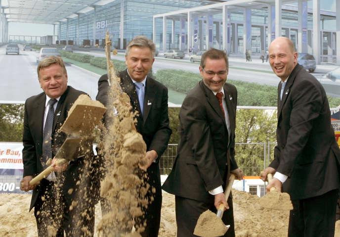 Lancement des travaux de l'aéroport de Berlin le 5 septembre 2006