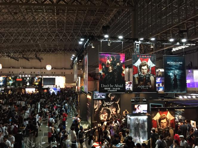 Dans les halles du grand centre de convention Makuhari Messe, se tient en septembrela vingtième édition du Tokyo Game Show, gigantesque salon du jeu vidéo.
