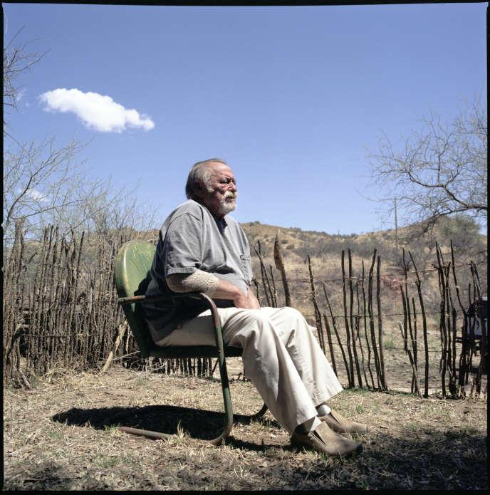 Jim Harrison en 2011, en Arizona.