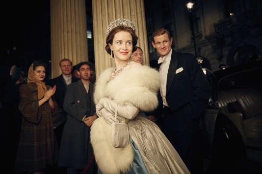 Claire Foy dans la série«The Crown».