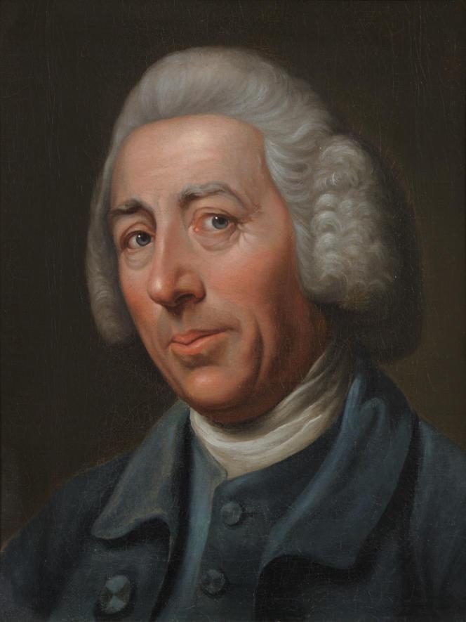 Portrait de Lancelot Brown par Sir Nathaniel Dance-Holland, vers 1775.