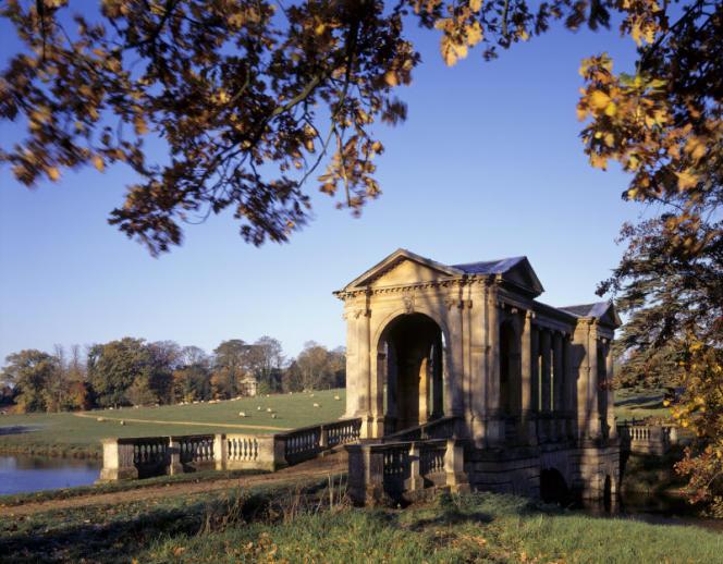 Les jardins de Prior Park, dessinés par Lancelot Brown.
