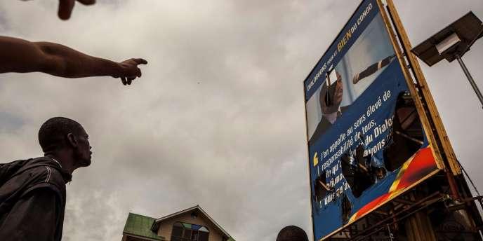 Dans les rues de Kinshasa, le 19 septembre.