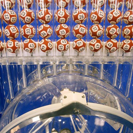 Tirage de l'Euromillion à Boulogne Billancourt en 2007.