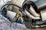 Mesure des émissions d'une Volkswagen Golf diesel à Francfort en 2015
