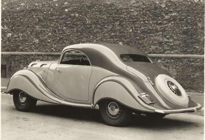 La Panhard Dynamic, un modèle rare la version coupé.