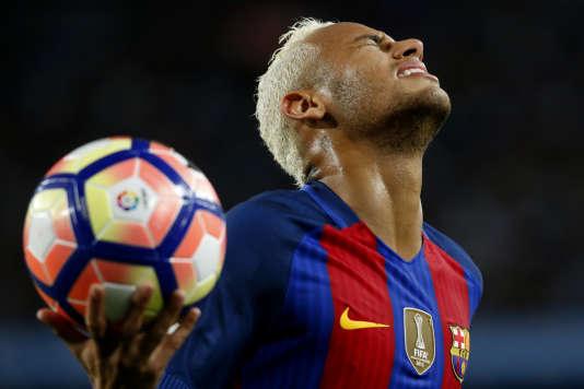 Neymar, le 21 septembre à Barcelone.