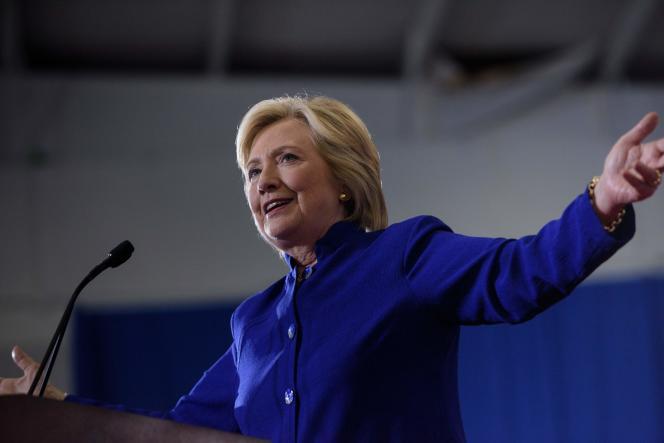 Hillary Clinton à Orlando, en Floride, le 21 septembre.