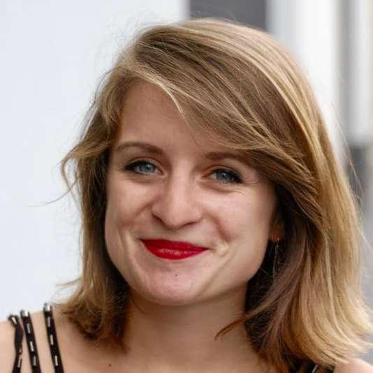 Lilâ Le Bas, le nouvelle présidente de l'Union nationale des étudiants de France (UNEF).