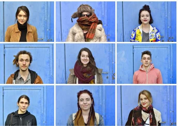 Portraits d'étudiant à Rennes - Avril 2016