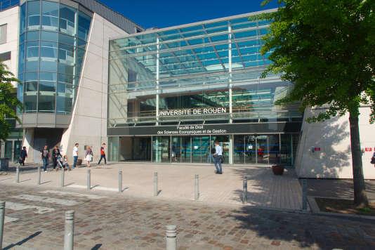 Faculté de droit de Rouen, en juin 2013.