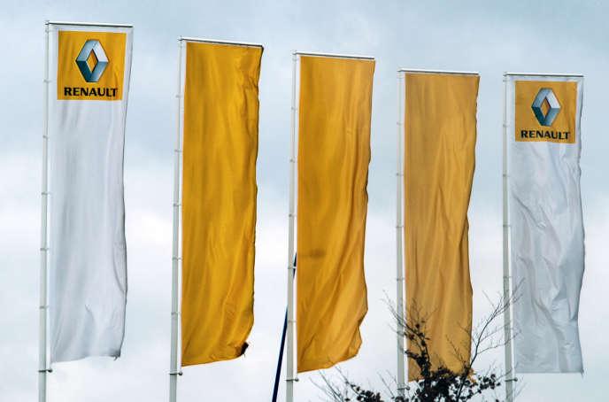 Site Renault de Douai, en janvier 2016.
