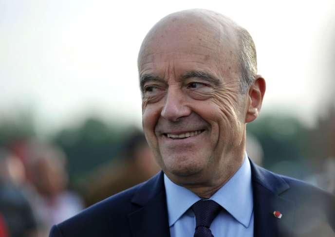 Alain Juppé, à Tours, 22 septembre.