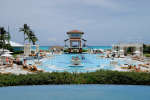 GREAT EXUMA, BAHAMAS - JUNE 04: View of Sandals Emerald Bay Celebrity Golf Weekend on June 4, 2016 in Great Exuma, Bahamas. Dimitrios Kambouris/Getty Images for Sandals/AFP