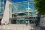 L'entrée du campus de l'université de Rouen (Seine-Maritime).