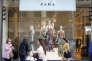 Boutique Zara à Madrid, en Espagne, le 15 juin 2016.