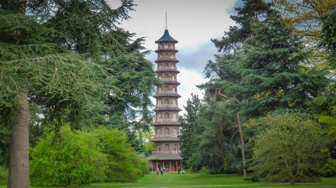 La grande pagode de Kew Gardens.