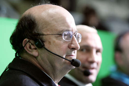 Pierre Salviac aux commentaires en 2004.