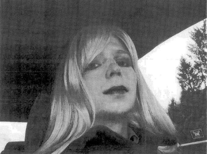 Chelsea Manning, en 2010.