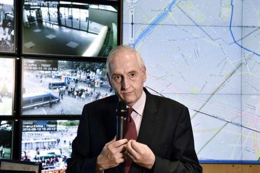 Le préfet de Paris, Michel Cadot, le 13 juin 2016.