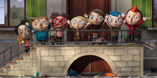 Une scène du film d'animation français et suisse deClaude Barras,« Ma vie de courgette», sorti en salles mercredi 19 octobre 2016.