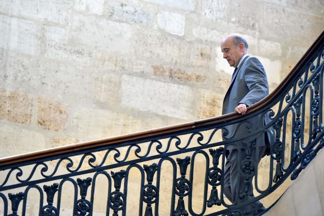 Alain Juppé à Bordeaux le 26 septembre.