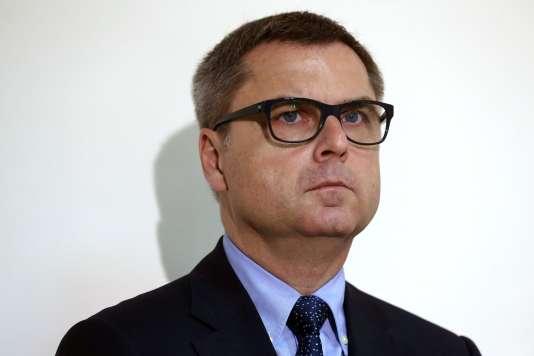 L'ancien patron de la police judiciaire Christian Flaesch, le 26 septembre 2016.