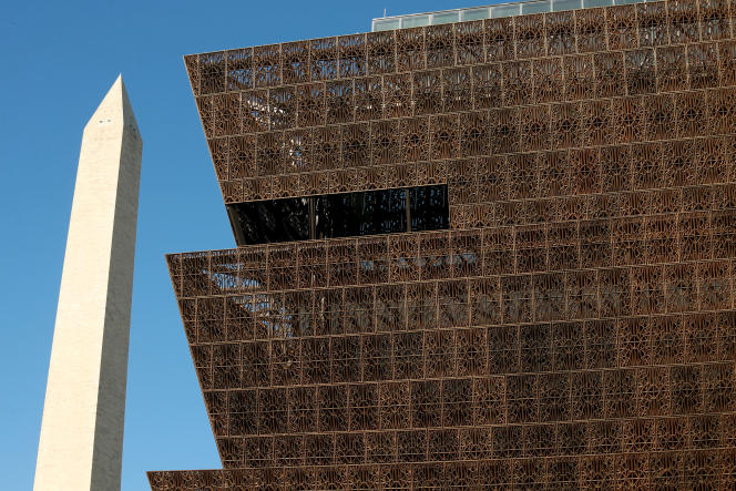 Le National Museum of African American History and Culture à Washington, érigé pour rendre hommage aux Noirs qui ont fait l'Amérique.