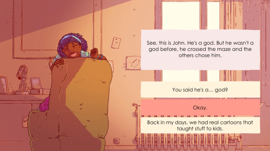« We All End Up Alone », un jeu français qui aborde la question du cancer.