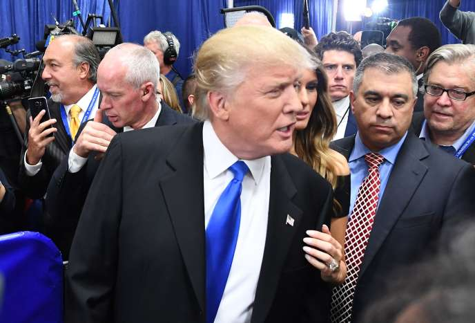 Le candidat républicain Donald Trump après son débat face à la candidate démocrate le 26 septembre.