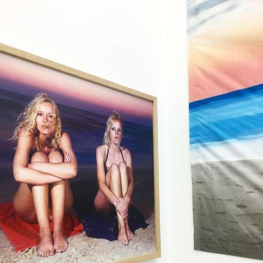 Exposition« Matin, midi et soir» à la galerie RueVisconti à Paris.