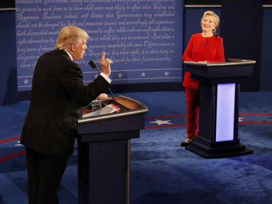Les deux candidats se sont affrontés dans le premier débat télévisé de la campagne dans la soirée de lundi.