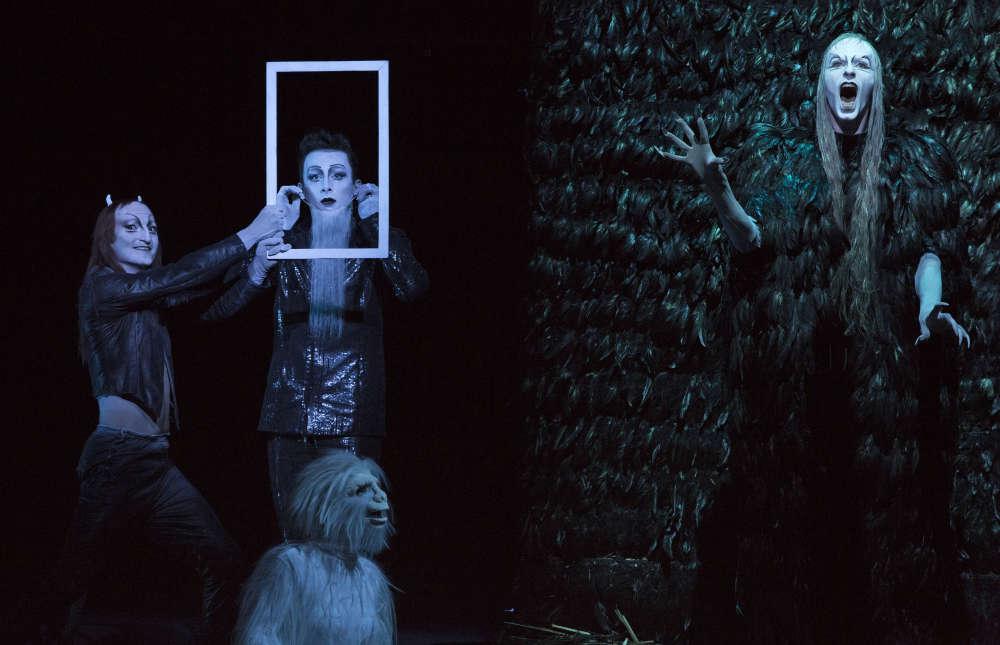Bob Wilson adapte sur scène les deux volets du «Faust», de Goethe.