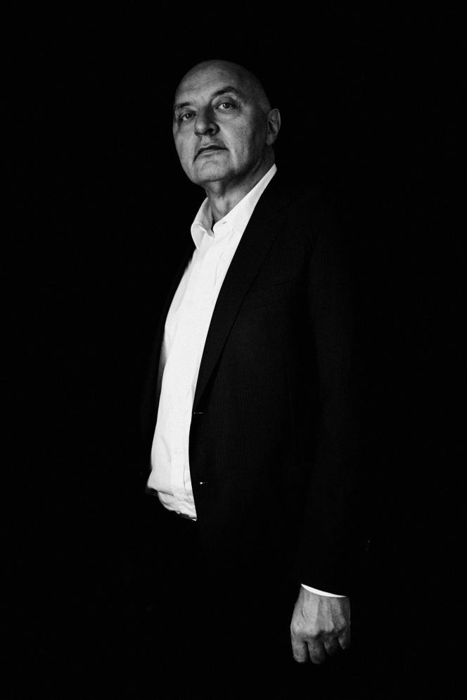 Pascal Morand, président exécutif de la Fédération de la couture,en septembre.