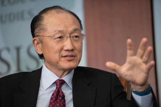 Le président de la Banque mondiale, l'AméricainJim Yong Kim, le 1er juin à Washington.