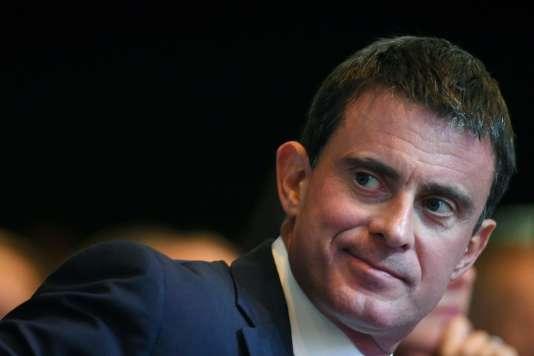 Le premier ministre, Manuel Valls, à Nantes, le 27 septembre.