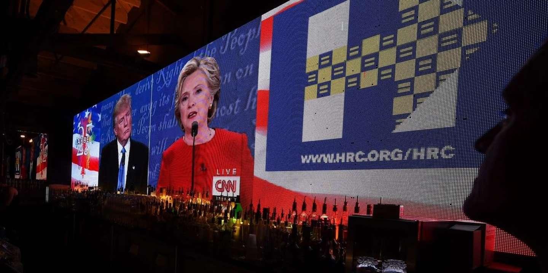 Le premier débat présidentiel entre Hillary Clinton et Donald Trump.
