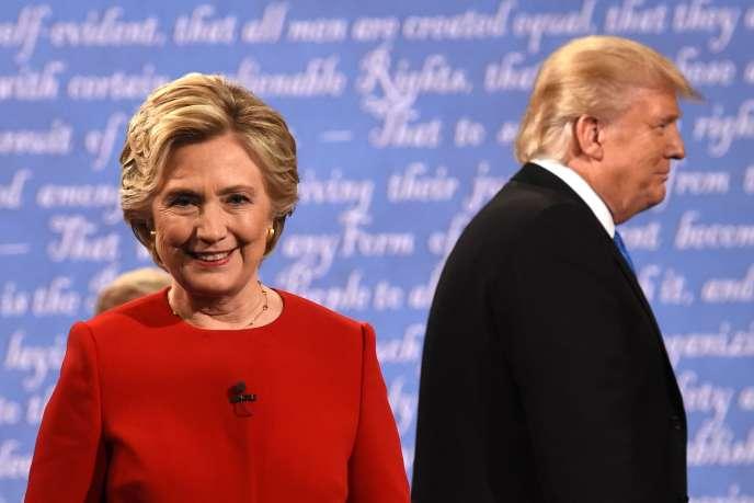 Hillary Clinton et Donald Trump, le 26 septembre.