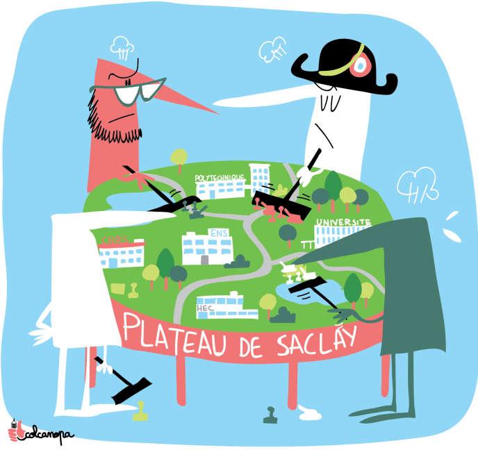 A Saclay, la guerre froide entre grandes écoles et universités.