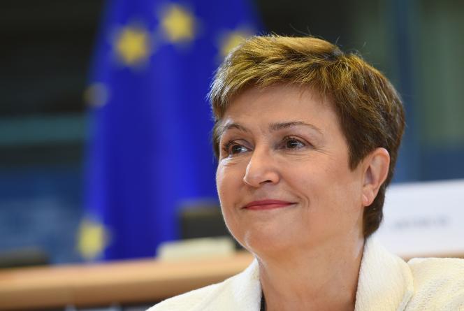 La BulgareKristalina Georgieva,le 2 octobre 2014.
