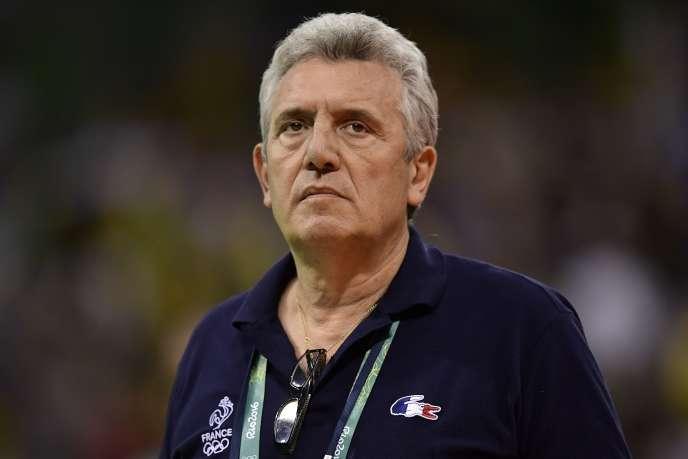 Claude Onesta, en août 2016, lors des Jeux de Rio.