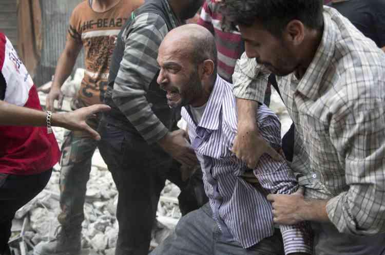 Il ne resterait plus que 30 médecins dans la zone assiégée pour s'occuper de plusieurs centaines de blessés par jour.