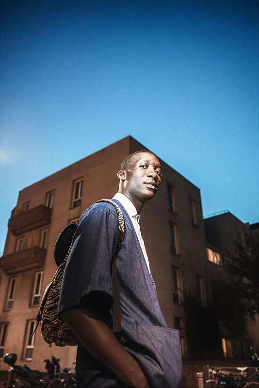 Souleymane Sylla, en septembre à Saint-Ouen.