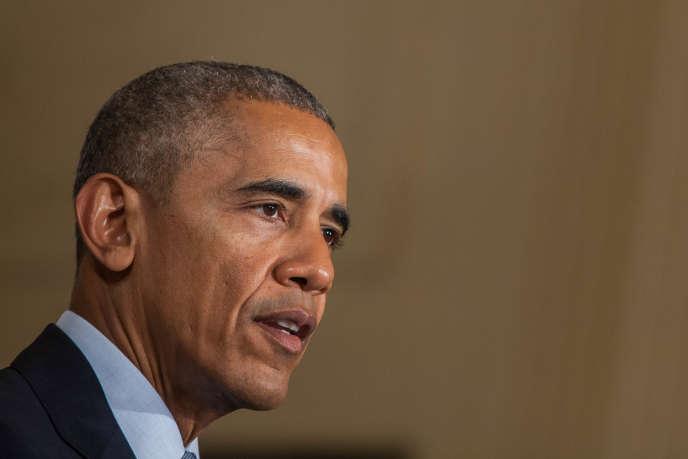 Barack Obama à Washington le 28 septembre.