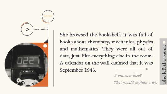 «Device 6», créé parSimon Flesseret édité parSimogo.