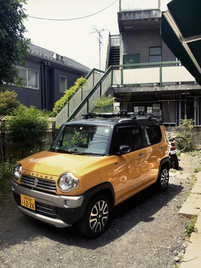 Le Hustler de Suzuki n'a jamais été commercialisé en Europe.