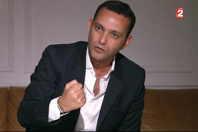 Franck Attal, cofondateur de l'agence de communication Bygmalion durant l'emission« Envoyé Spécial» .