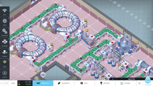 «Big Pharma»,développé par Twice Circled et édité par Positech Games.